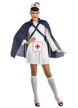 Disfraz de Enfermera del Ejército para mujer