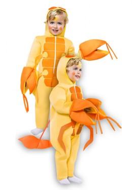 Disfraz de Escorpión amarillo para niño