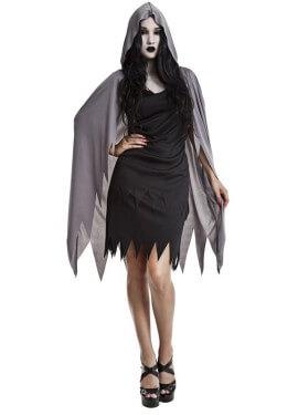 Disfraz de Espectro Guadañas para mujer