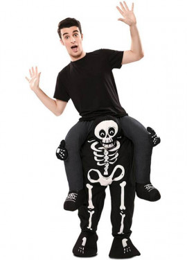Disfraz de Esqueleto a hombros para adultos