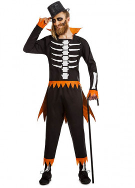 Disfraz de Esqueleto Calabaza para hombre