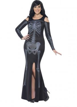 Disfraz de Esqueleto con Curvas para mujer