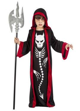 Disfraz de Esqueleto Demonio para niño