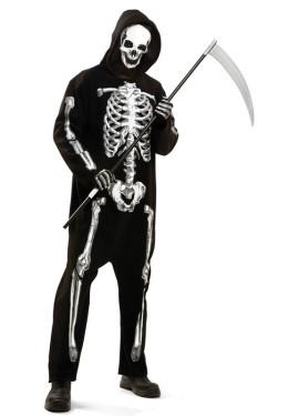 Disfraz de Esqueleto Mortal para hombre