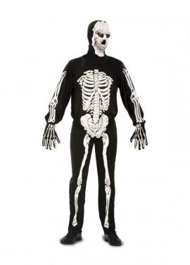 Disfraz de Esqueleto para hombres para Halloween