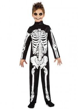Déguisement de Squelette pour garçon.