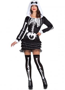 Disfraz de Esqueleto Sassy para mujer para Halloween
