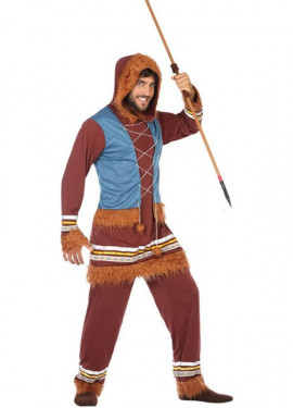 Disfraz de Esquimal con Capucha para hombre