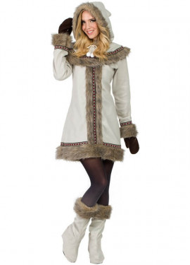 Costume eschimese per donna