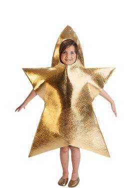 Disfraz de Estrella de Navidad para Niña de 5 a 7 años