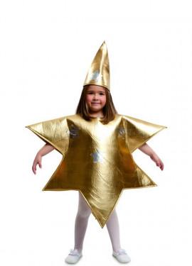 Disfraz de Estrella Dorada para niños