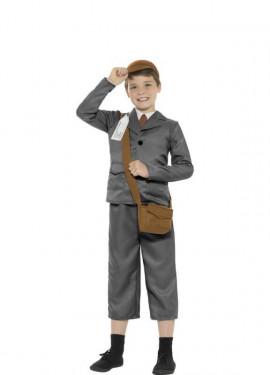Disfraz de Estudiante Años 40 para niño