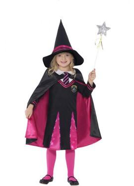 Déguisement Apprentie Sorcière pour fille plusieurs tailles Halloween