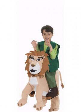Déguisement d´Explorateur au muscle de Lion pour enfant