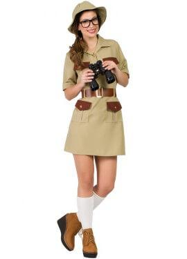 Costume da scout per una donna