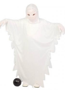 Disfraz de Fantasma Blanco para niños