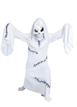 Disfraz de Fantasma blanco para niños para Halloween