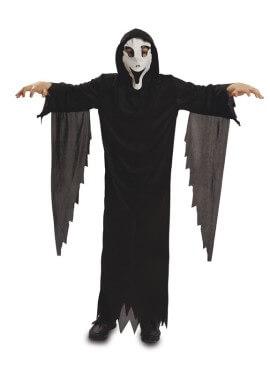 Déguisement de Fantôme avec masque pour garçons Halloween plusieurs tailles