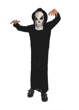 Disfraz de Fantasma de la muerte para niños para Halloween