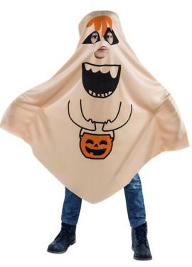 Disfraz de Fantasma Feliz para niño
