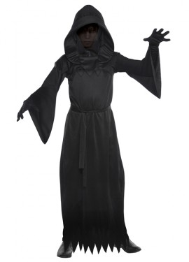 Disfraz de Fantasma oscuro para niños para Halloween