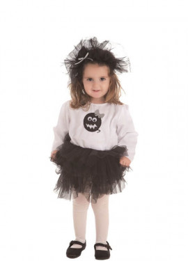 Disfraz de Fantasma Tutú para niña