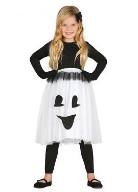 Disfraz de Fantasmita para niña
