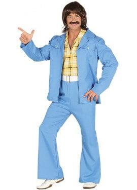 Disfraz de Fiebre de los 70 para hombre