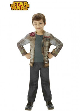 Disfraz de Finn deluxe de Star Wars VII para niño