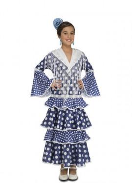 Disfraz de Flamenca Alvero para niña
