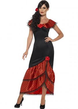 Disfraz de Flamenca con Lunares para mujer