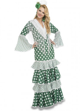 Disfraz de Flamenca Feria para mujer