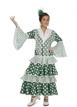Disfraz de Flamenca Feria para niña