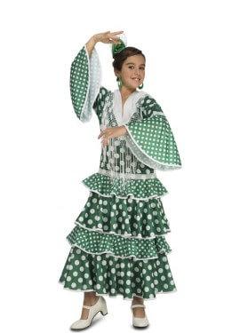 Disfraz de Flamenca Giralda para niña