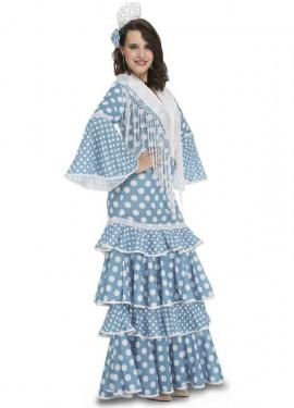 Disfraz de Flamenca Huelva para mujer