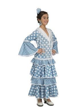 Disfraz de Flamenca Huelva para niña