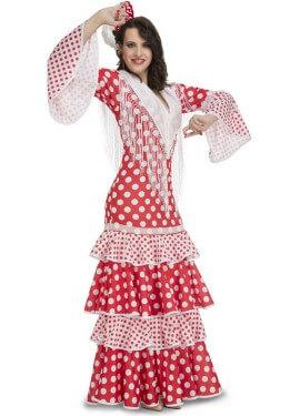 Disfraz de Flamenca Rocío para mujer