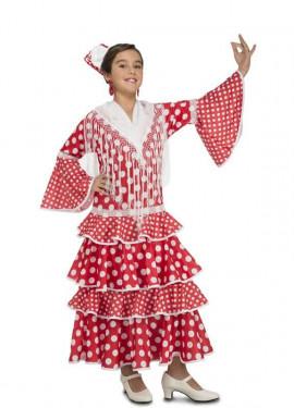 Disfraz de Flamenca Sevilla para niña