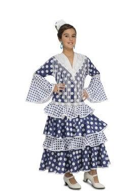 Disfraz de Flamenca Soleá para niña