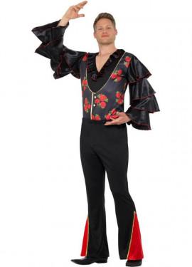 Disfraz de Flamenco con Flores para hombre