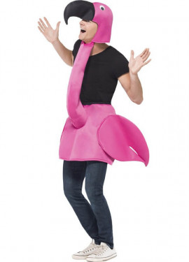 Disfraz de Flamenco para adultos en talla universal