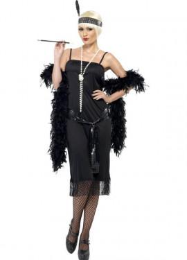 Déguisement Flapper Année 20 Noir pour Femme plusieurs tailles