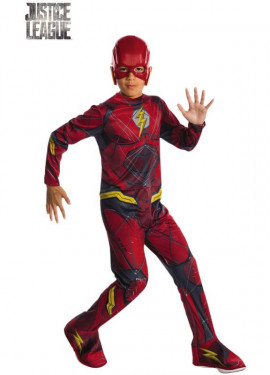 Flash game justice league costume per ragazzo