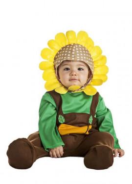 Disfraz de Flor Girasol para bebé