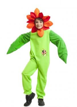 Disfraz de Flor Mariquita para niños 055ffe16a3f