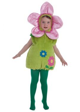 Disfraz de Flor para niños