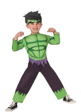 Déguisement Enfant Forcé Vert