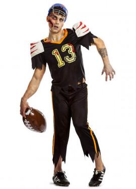 Disfraz de Fútbol Americano Zombie para hombre