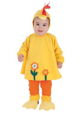 Disfraz de Gallina loca para bebé