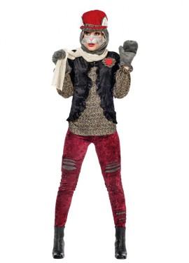 Disfraz de Gatita Callejera Cleo para mujer